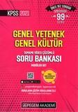 Pegem Yayınları - KPSS 2021 GY-GK Tamamı Çözümlü Soru Bankası Modüler Set-5 Kitap