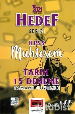 Yargı Yayınları - KPSS 2021 Hedef Serisi Tamamı Çözümlü 15 Li Deneme Sınavı