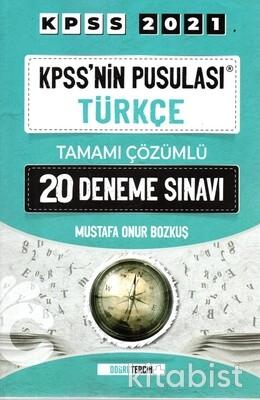 Doğru Tercih Yayınları - KPSS 2021 Kpss nin Pusulası Türkçe 20 li Deneme Sınavı