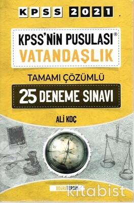 Doğru Tercih Yayınları - KPSS 2021 Kpss nin Pusulası Vatandaşlık 25 Li Deneme Sınavı