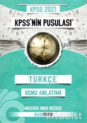 Doğru Tercih Yayınları - KPSS 2021 Türkçe'nin Pusulası Konu Anlatımlı