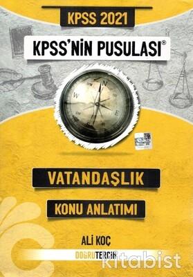 Doğru Tercih Yayınları - KPSS 2021 Kpss'nin Pusulası Vatandaşlık Konu Anlatımlı