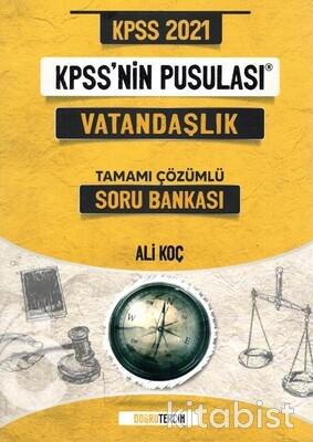 Doğru Tercih Yayınları - KPSS 2021 KPSS'nin Pusulası Vatandaşlık Soru Bankası
