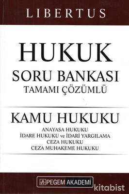 Pegem Yayınları - KPSS 2021 Libertus Hukuk (Kamu Hukuku)Soru Bankası