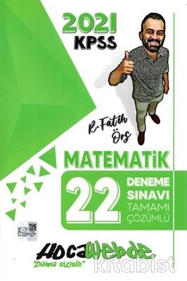 Hoca Webde Yayınları - KPSS 2021 Matematik 22'li Deneme Sınavı