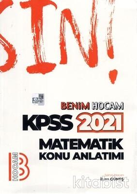 Benim Hocam Yayınları - KPSS 2021 Matematik Konu Anlatımlı