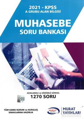 Murat Yayınları - KPSS 2021 Muhasebe Soru Bankası