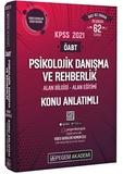 Pegem Yayınları - KPSS 2021 ÖABT Psikolojik Danışma ve Rehberlik Video Destekli Konu Anlatımlı