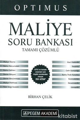 Pegem Yayınları - KPSS 2021 Optımus Maliye Tamamı Çözümlü Soru Bankası