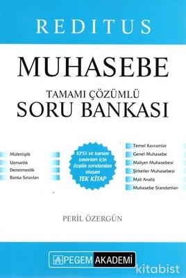 Pegem Yayınları - KPSS 2021 Redıtus Muhasebe Tamamı Çözümlü Soru Bankası