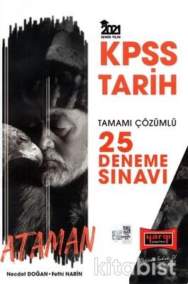Yargı Yayınları - KPSS 2021 Tarih Tamamı Çözümlü 25 Li Deneme Sınavı