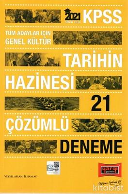 Yargı Yayınları - KPSS 2021 Tarihin Hazinesi 21'li Çözümlü Deneme