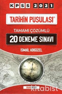 Doğru Tercih Yayınları - KPSS 2021 Tarihin Pusulası 20'li Deneme Sınavı