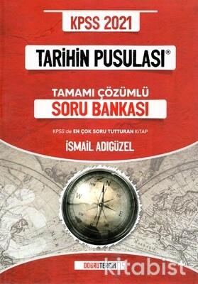 Doğru Tercih Yayınları - KPSS 2021 Tarihin Pusulası Tamamı Çözümlü Soru Bankası