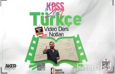 İsem Yayıncılık - KPSS 2021 Türkçe Video Ders Notları