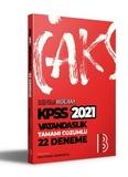Benim Hocam Yayınları - KPSS 2021 Vatandaşlık Tamamı Çözümlü 22'li Deneme Sınavı