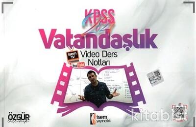 İsem Yayıncılık - KPSS 2021 Vatandaşlık Video Ders Notları