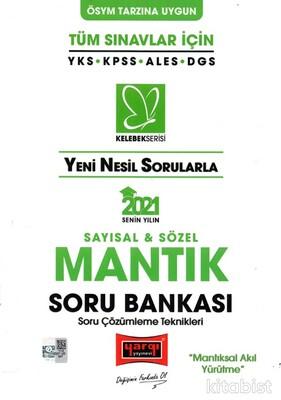Yargı Yayınları - KPSS 2021 Yeni Nesil Sorularla Sayısal&Sözel Mantık Soru Bankası