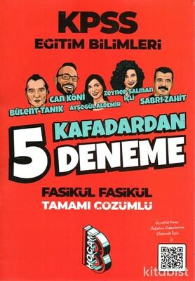 Benim Hocam Yayınları - KPSS Eğitim Bilimleri Kafadardan Çözümlü 5 Li Deneme