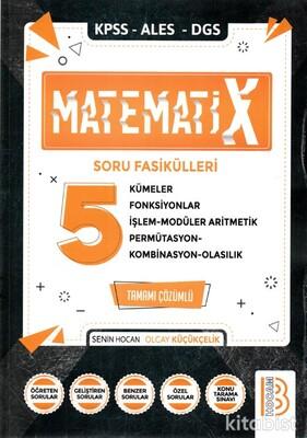 Benim Hocam Yayınları - KPSS/ALES/DGS Matematix-5 Soru Fasikülleri