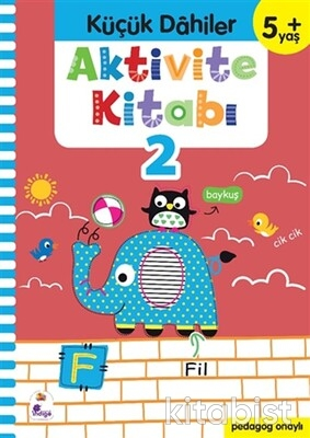 İndigo Kitap - Küçük Dahiler-Aktivite Kitabı-2 (5+ Yaş)