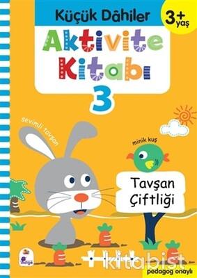 İndigo Kitap - Küçük Dahiler-Aktivite Kitabı-3 (3+Yaş)