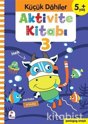 İndigo Kitap - Küçük Dahiler-Aktivite Kitabı-3 (5+ Yaş)