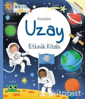 1001 Çiçek Yayınları - Küçüklere Uzay Etkinlik Kitabı