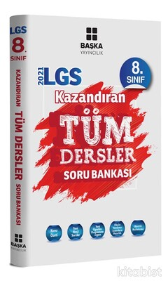 Başka Yayıncılık - LGS 8.Sınıf Kazandıran Tüm Dersler Soru Bankası