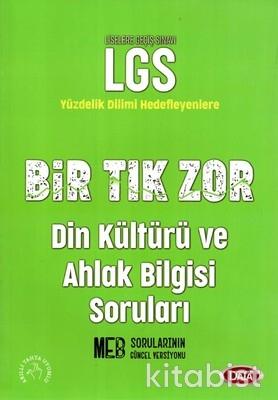 Data Yayınları - LGS Bir Tık Zor Din Kültürü ve Ahlak Bil.Soru Bankası