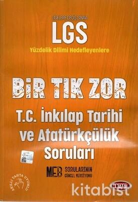 Data Yayınları - LGS Bir Tık Zor İnkilap Tarihi ve Atatürkçülük Soruları