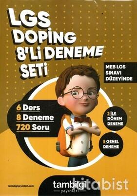 Tam Bilgi Yayınları - LGS Doping 8 li Deneme Seti