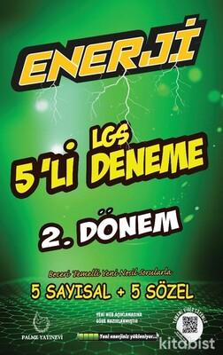 Palme Yayınları - LGS Enerji 5 Li Deneme 2.Dönem