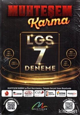 Muhteşem Yayınları - LGS Muhteşem Karma 7'li Deneme