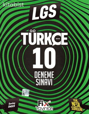 Fix Yayınları - LGS Türkçe 10 Deneme Sınavı