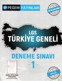Pegem Yayınları - LGS Türkiye Geneli Deneme Sınavı-1