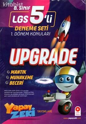 Yapay Zeki Yayınları - LGS Upgrade 5 Li Deneme Sınavı-1.Dönem Konuları