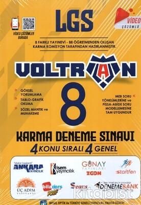 Voltran Yayınları - LGS Voltran 8 Li Karma Deneme Sınavı