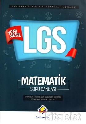 Final Yayınları - 8.Sınıf LGS Yeni Nesil Matematik Soru Bankası