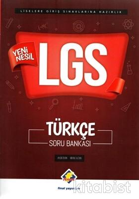 Final Yayınları - 8.Sınıf LGS Yeni Nesil Türkçe Soru Bankası