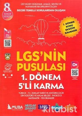 Murat Yayınları - LGS'nin Pusulası 1.Dönem 5'li Karma Deneme