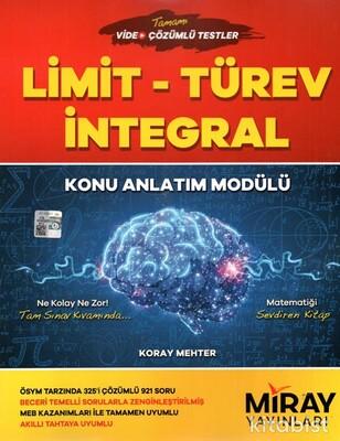 Miray Yayınları - Limit-Türev-İntegral Konu Anlatım Modülü