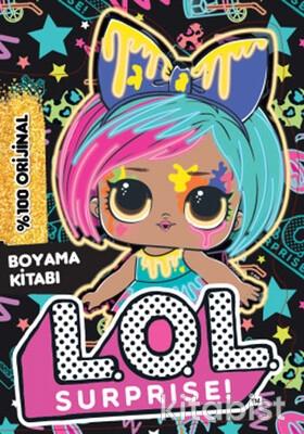 Doğan Egmont Yayınları - Lol Surprise Neon Splatters Boyama Kitabı
