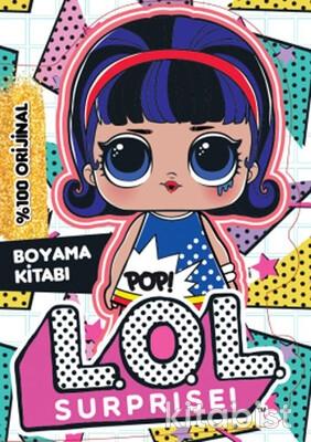 Doğan Egmont Yayınları - Lol Surprise Popheart Boyama Kitabı