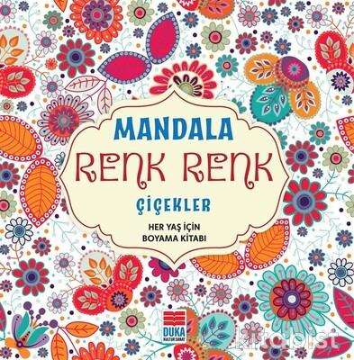 Duka Kültür Sanat - Mandala Renk Renk Çiçekler