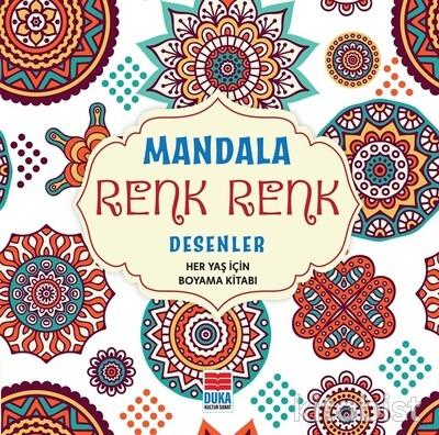Duka Kültür Sanat - Mandala Renk Renk Desenler