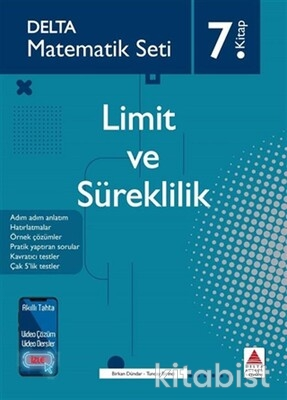 Delta Yayınları - Matematik Seti-7.Kitap-Limit ve Süreklilik