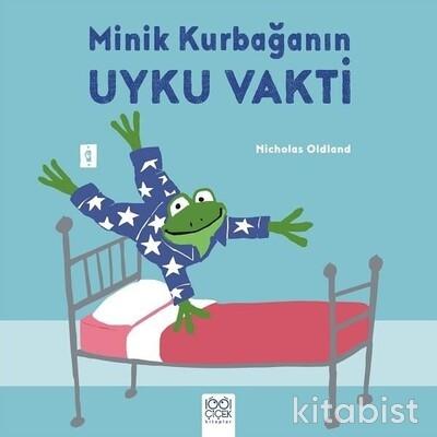 1001 Çiçek Yayınları - Minik Kurbağanın Uyku Vakti