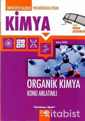 Çap Yayınları - Organik Kimya Konu Anlatımlı
