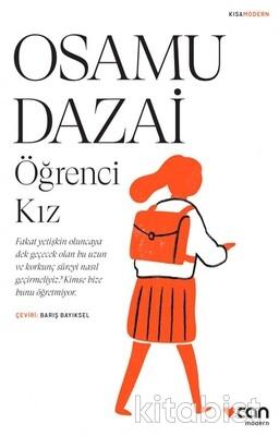 Can Yayınları - Osamu Dazai-Öğrenci Kız